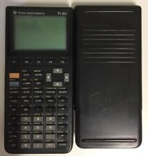 Texas Instruments TI-85 Graphing Calculator Working w Manual 7784