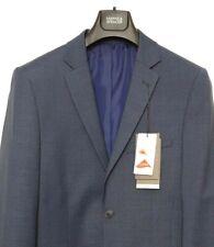 Chaqueta para hombre M&S/Azul £ 79 a medida con mezcla de lana marcas de estiramiento Blazer 38L BNWT