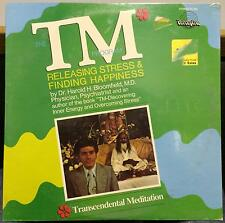 DR HAROLD H BLOOMFIELD M.D. the tm program LP Sealed PC 903 Private Meditation