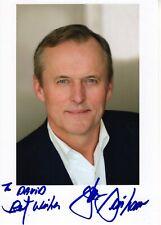 JOHN GRISHAM HAND SIGNED 5x7 COLOR PHOTO+COA       GREAT AUTHOR        TO DAVID