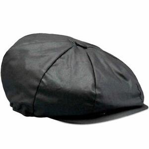 BELSTAFF HISLOP 6oz WAX COTTON BAKER BOY PEAKY BLINDER CAP