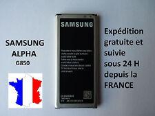 Batterie pour Samsung Galaxy ALPHA  - 1860 mAh  réf EB-BG850BBE et EB-BG850BBC
