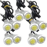 10 X 9W LED DRL Eagle Eye Light Car Fog Daytime Reverse Parking Signal White
