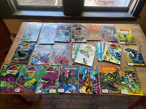 Vintage Topps Jurassic Park Comic Lot of (37)