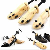 One Pair Women Shoe Stretcher 2-Way Wood Lady Shoes Stretcher Sizes From 5-10