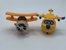 Super Wings Mini Transforming Toy Planes Bundle Of 2 Auldey - Free Shipping! - A