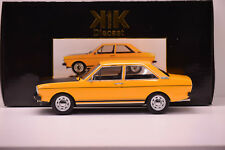 AUDI 80 GTE B1 1975 ARANCIONE KK SCALE 1/18 NUOVO IN SCATOLA