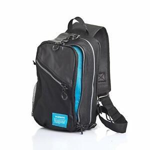 Shimano Sling Shoulder Bag M size BS-025Q Black Fishing Outdoors Japan New