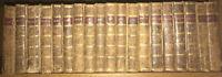 LEATHER Set;HISTORY OF ENGLAND! Complete David Hume + Smollett Original Detached