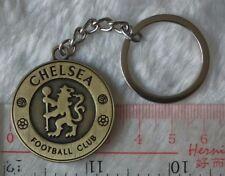 kiTki Chelsea FC metal badge football soccer keychain key chain bronze ring