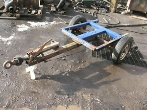 Trailer commercial heavy duty project two wheel braked with indespension 750kg