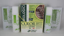 Naturerbe COLOR ERBE bio Tinta TINTURA biologica capelli 60ml  27 BIONDO SOLE