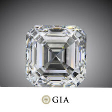 0.92 carat Aascher Cut Diamond H color VS1 clarity GIA report Excellent loose