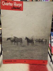 The QUARTER HORSE JOURNAL November 1956