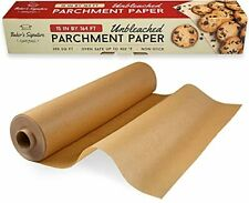 New listing Unbleached Food Grade Parchment Paper Roll Baking Paper by Baker's Signature