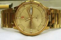Gold Stainless Steel Case Lot for Rado Vintage watch