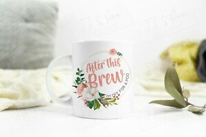 Funny Mug: After This Brew I'm Off For A Poo (Novelty Gift Idea Coffee Tea Cup)