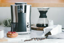 Brim - 6.4-Oz. Conical Burr Coffee Grinder - Stainless Steel -NEW