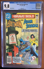 Brave and the Bold #161 CGC 9.8 POP 8