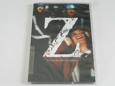 Z (DVD, Criterion Collection) Costa-Gavras NEW SEALED VERY RARE OUT-OF-PRINT!!!!