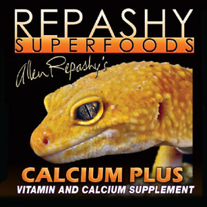 Repashy Calcium Plus Vitamin Supplement Leopard Gecko Bearded Dragon Reptile