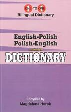 English-Polish & Polish-English One-to-One Dictionary (Exam-Suitable): 2015 by IBS Books (Paperback, 2015)