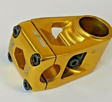 "BOX HOLLOW STEM 1-1/8"" GOLD 53MM 22.2 BMX front load"