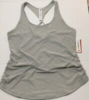 New Balance Women's Transform Perfect Tank Fitted Gray Running Crossfit Size XL