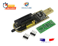 CH341A USB Programmer 24/25 Serie Graveur BIOS Writer SPI Flash & CH341A Program