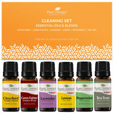 Plant Therapy Essential Oils Cleaning Oils Set 100% Pure, Undiluted