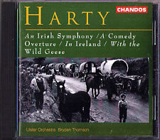 Bryden THOMSON: HARTY An Irish Symphony Wild Geese In Ireland Comedy Overture CD