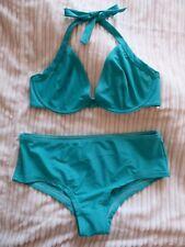 Bikini turquoise. Haut 85D, bas 36