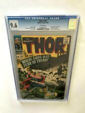 🔑THOR # 132 CGC 9.6 White, Perfectly Centered, 1st Cameo Ego The Living Planet