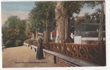Byrons Elm & Church Terrace Harrow Vintage Postcard 811b