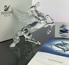 New ListingSwarovski Crystal 1998 Pegasus Horse Figurine Mint In Original Box!