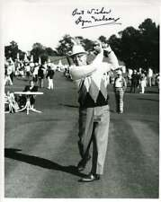 Byron Nelson Psa Dna And Jsa Coa Autographed 8x10 Photo  Hand Signed Authentic