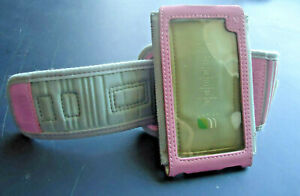 Incase Sport Arm Band, Cell Phone Holder Running Jogging Gym-Pink/Grey Washable