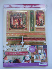 "Winter Warmers Hunkydory Luxury Toppers ""angel of Peace"" 3 Sheets A4"