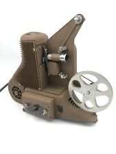 UNIVERSAL CORPORATION PC-500 8mm REEL to REEL VINTAGE PROJECTOR - VIDEO DEMO
