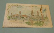 1904 St. Louis World's Fair Postcards Machinery and Mines & Metallurgy Buildings