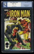 Iron Man #192 PGX NM- 9.2 White Pages Marvel Comics