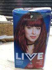 SCHWARZKOPF LIVE INTENCE COLOUR NO 43 RED PASSION