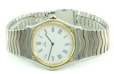 Vintage Ebel Herren Armbanduhr Quarz  Stahl&Gold 750er 18K Gold