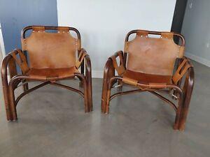 Vintage 1940s Italian Safari Chairs