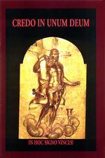 "V/A SAMPLER ""credo in unum Deum"" CD + BOOK di trono acciaio Death in June Blood Axis"