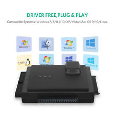"""USB 3.0 to 2.5"""" 3.5"""" HDD Hard Drive SATA IDE Adapter Converter Docking Station A"""