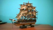 """Old Vintage Model Sailing Ship """"The RED JACKET"""""""