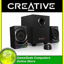 Creative KRATOS S5 RGB LEDs Sound Blaster X Pro Gaming 2.1 Speakers MF0470 [3]