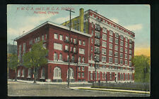 1913 ORIGINAL POSTCARD YWCA AND YMCA BUILDING PORTLAND OREGON USED