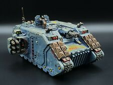 Warhammer 40k Space Wolves Land Raider Crusader #2 Painted